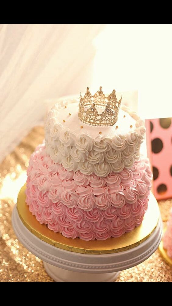 Princess Rose Cake