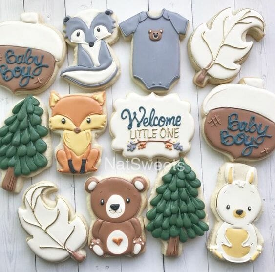 Forest Animal Cookies