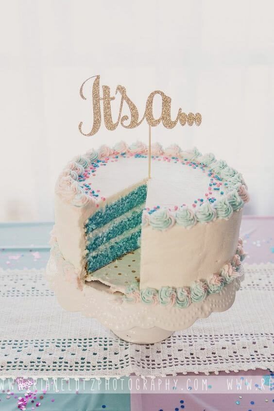 Gender Reveal Cake (It's a…)