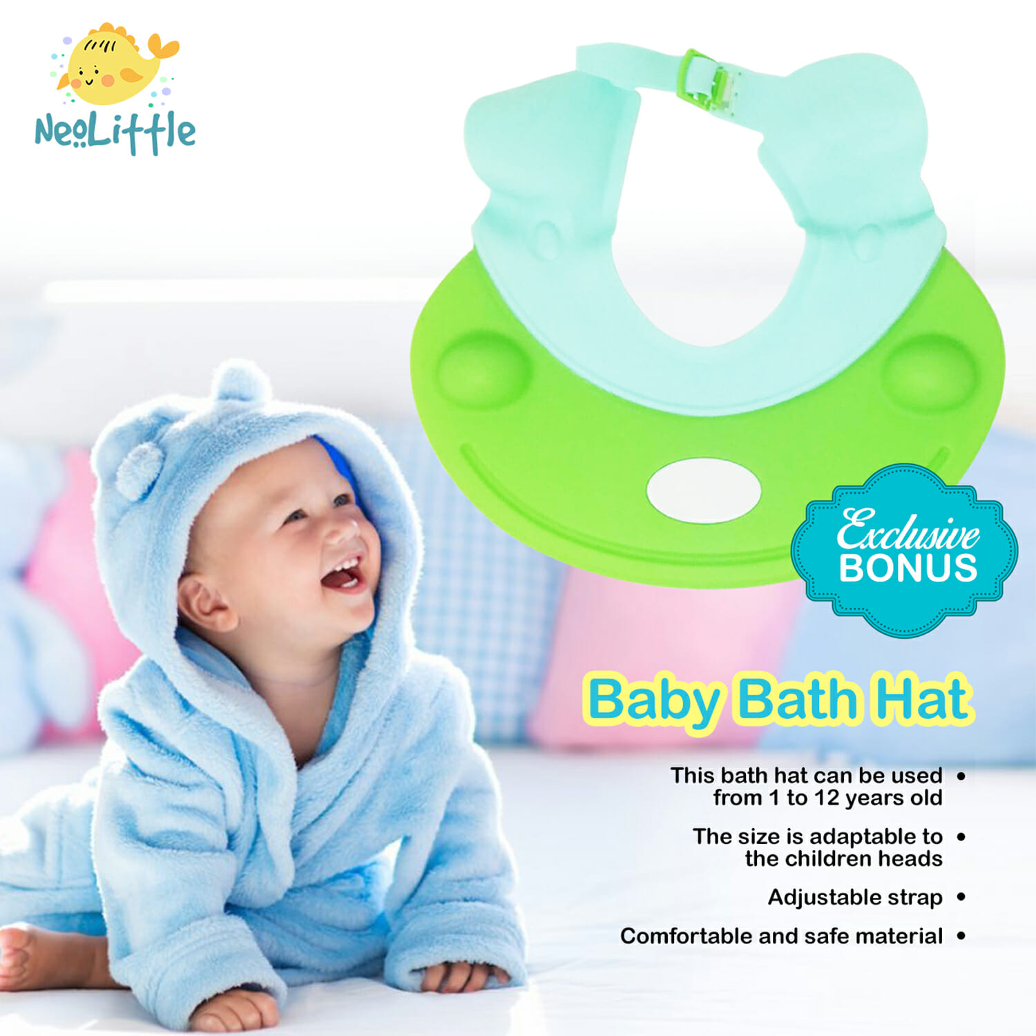 knee pad for bathing baby - 7