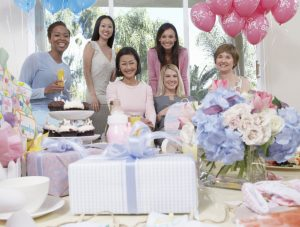 baby Shower with Kids as Guests