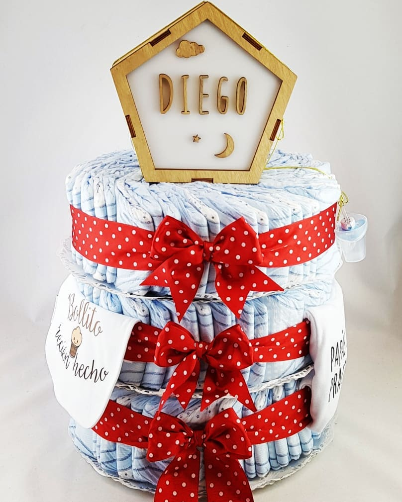 How to Make a Diaper Cake - the 13 CRAZY Tips