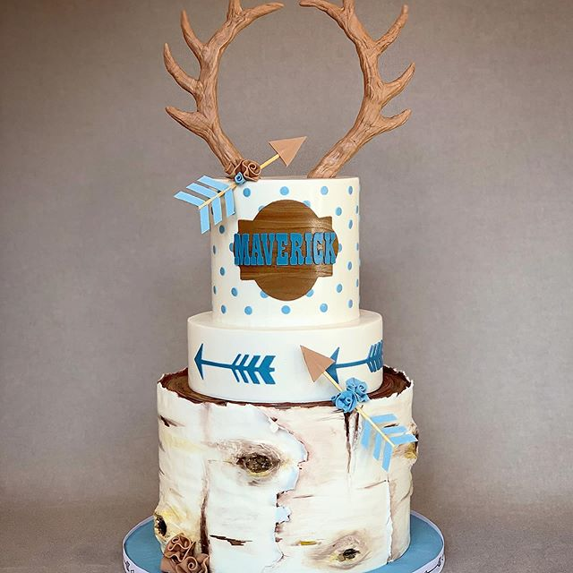 Let There Be Cake's Birch Tree Cake