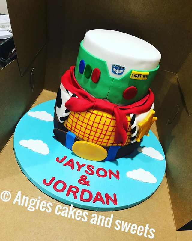Angie's Sweets and Cakes' Toy Story Themed Cak