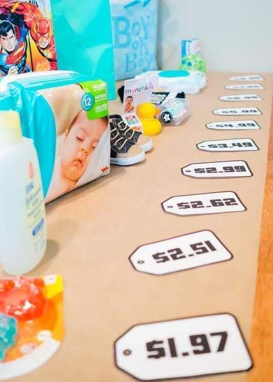 The Price is Right Baby Shower Edition