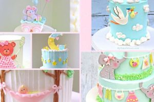 20 Amazing Baby Shower Cakes for Girls